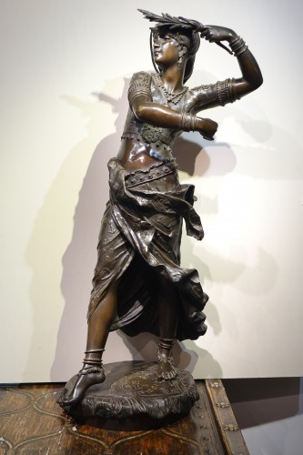 Oriental dancer - Henri Honoré PLÈ ( 1853-1922) - Sculpture Style Art nouveau