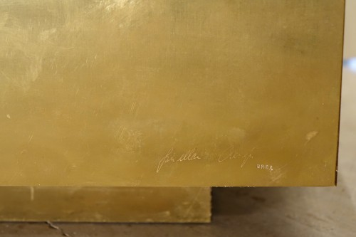 "Furniture  - Low table ""Magic cube"" - Gabriella CRESPI (1922-2017)"