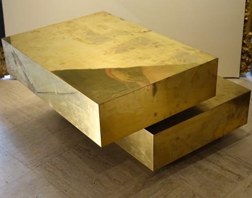 """Low table """"Magic cube"""" - Gabriella CRESPI (1922-2017) -"""