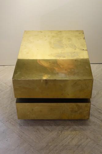 """Low table """"Magic cube"""" - Gabriella CRESPI (1922-2017) - 50"""