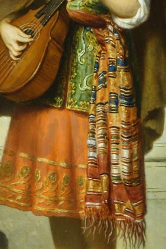 Mandolin player - Adolphe Henri DUBASTY (1814-1884) - Napoléon III