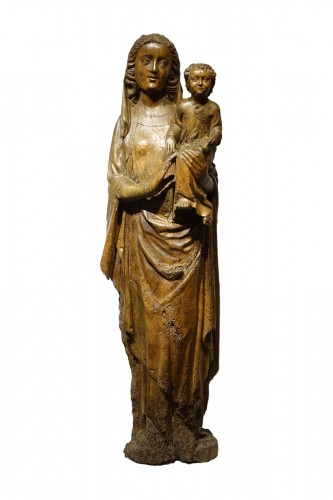 Virgin and Child - South West France 14th century
