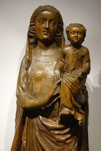 Virgin and Child - South West France 14th century - Religious Antiques Style Middle age