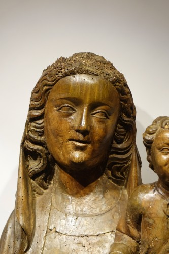 Religious Antiques  - Virgin and Child - South West France 14th century