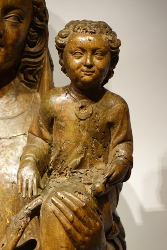 Virgin and Child - South West France 14th century -