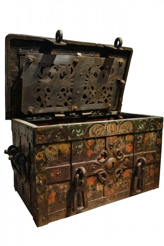 "A"" Nuremberg Chest Safe"",Germany 17th century"