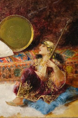 Paintings & Drawings  - Orientalist scene, oil on panel A.RIVAS( 1845-1911)