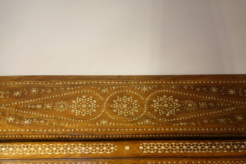 "19th century - Cylinder desk in ""certosina"", Italy, Venice, circa 1850"