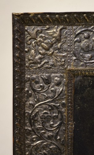 A sculpted wood mirror with a silver sheet applied. Venice,16th century - Mirrors, Trumeau Style Renaissance