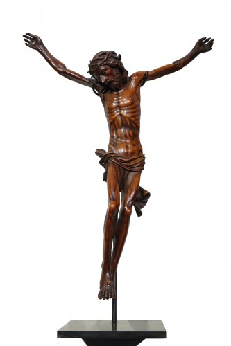 Christ without his cross, boxwood, France, 17th century.