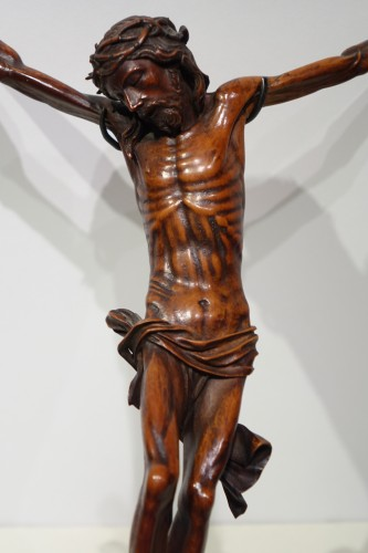 Christ without his cross, boxwood, France, 17th century. - Religious Antiques Style Louis XIII