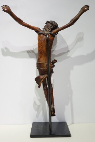 Christ without his cross, boxwood, France, 17th century. - Louis XIII