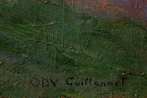Antiquités - Mrs Guillonnet nude in a garden - ODV Guillonnet, circa 1920