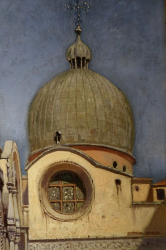 Paintings & Drawings  - The Doges Palace in Venice- F.W.ODELINCK, 1889