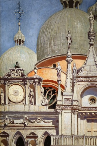 Antiquités - The Doges Palace in Venice- F.W.ODELINCK, 1889