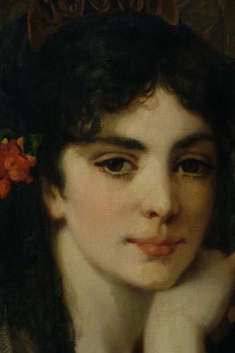 Antiquités - The beautiful Andalusian - Paul SAINT-JEAN (1842-1875)