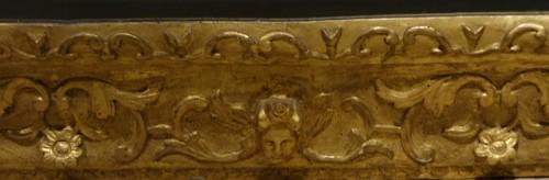 Gilded wood mirror, Italy 18th century -
