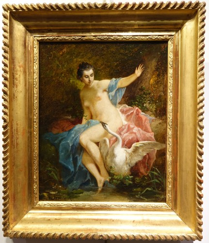 Leda and the Swan - F. LANFANT de METZ (1814-1892) - Napoléon III