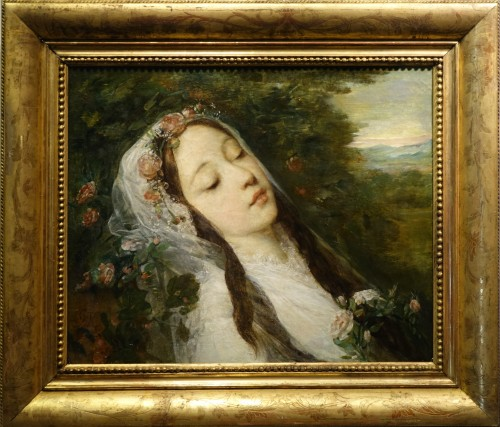 """Ophélia"", oil on canvas, Louis Gustave RICARD (1823-1873)"