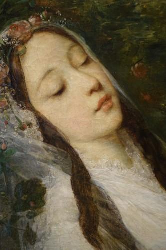 """Ophélia"", oil on canvas, Louis Gustave RICARD (1823-1873) - Napoléon III"