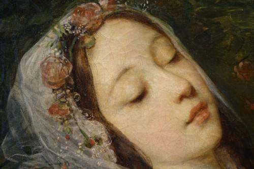 "Napoléon III - ""Ophélia"", oil on canvas, Louis Gustave RICARD (1823-1873)"