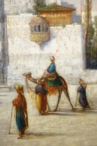 Vue of Cairo-  A.Visconti, circa 1850 -
