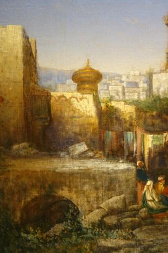 Antiquités - Vue of Cairo-  A.Visconti, circa 1850