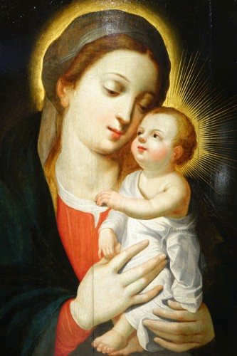 Virgin and Child, Northern France or Flanders, 17th century