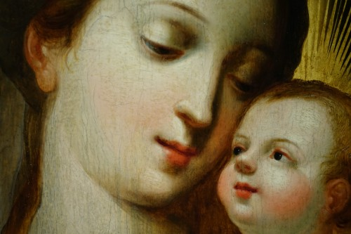 Virgin and Child, Northern France or Flanders, 17th century - Louis XIII