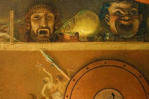 """""""Actors in the backstage in ancient Greece"""", att. Lecomte du Noüy - Napoléon III"""