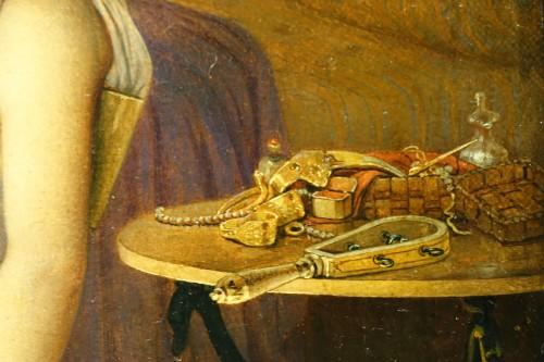 """Antiquités - """"Actors in the backstage in ancient Greece"""", att. Lecomte du Noüy"""