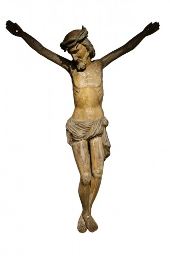 Very large wooden Christ, Germany, 16th c.