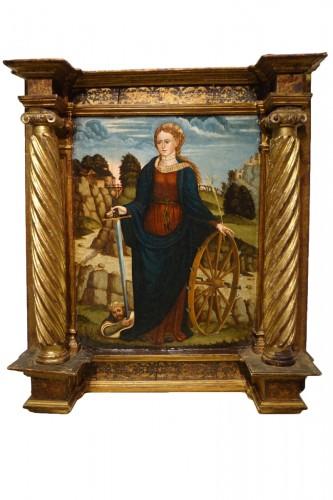 Saint Catherine of Alexandria, Spain, late 15th c.