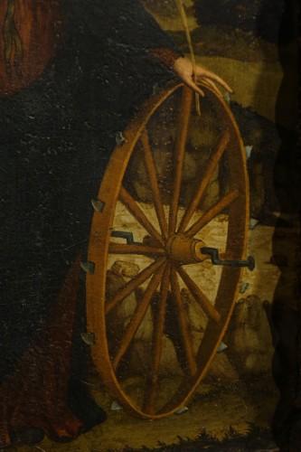 Paintings & Drawings  - Saint Catherine of Alexandria, Spain, late 15th c.