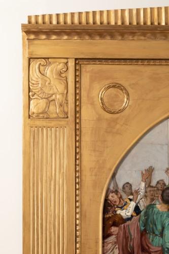 Paintings & Drawings  -  Mark Antony's Funeral Oration over the Corpse of Caesar , Robert Seuffert