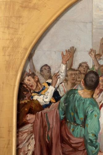 Art nouveau -  Mark Antony's Funeral Oration over the Corpse of Caesar , Robert Seuffert