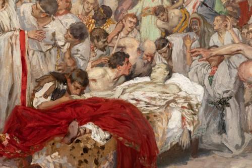 Antiquités -  Mark Antony's Funeral Oration over the Corpse of Caesar , Robert Seuffert