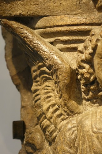 <= 16th century - Bust of an Angel praying, terracotta, Italy, 16th c.