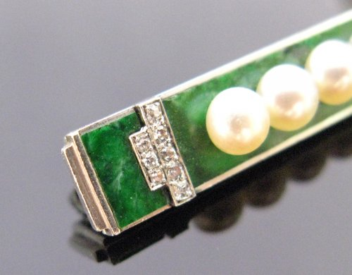 Antique Jewellery  - Art deco brooch by Boucheron Paris
