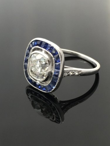 Art Deco ring circa 1925 - Antique Jewellery Style Art Déco