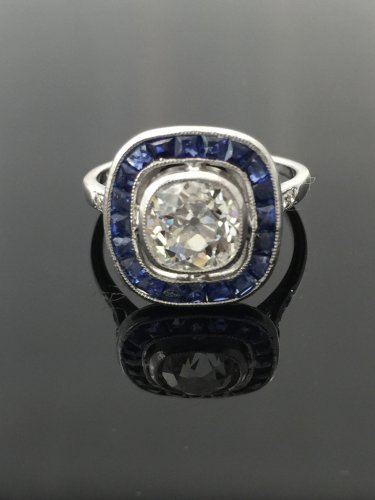 20th century - Art Deco ring circa 1925