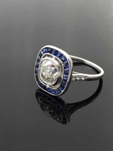 Art Deco ring circa 1925 - Art Déco
