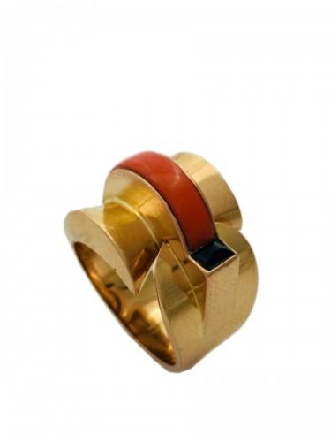 Modernist Ring Circa 1940