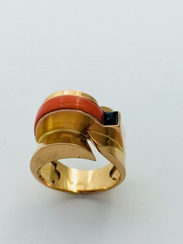 Modernist Ring Circa 1940 - Antique Jewellery Style 50