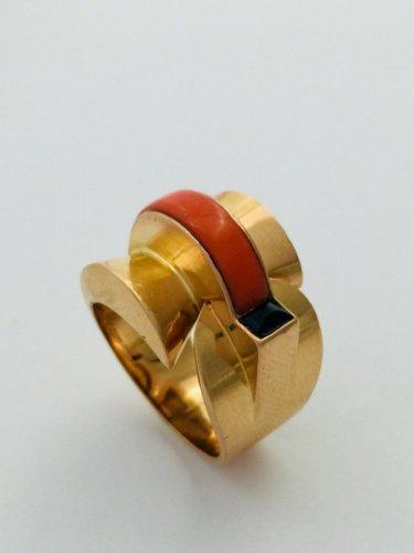 Modernist Ring Circa 1940 - 50