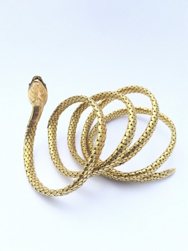"Antique Jewellery  - Bracelet ""Snake"" late 19th century"