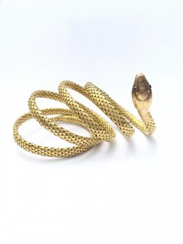 "19th century - Bracelet ""Snake"" late 19th century"