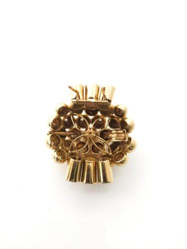 """Clip """"Bouquet"""" - René BOIVIN - Antique Jewellery Style Art Déco"""