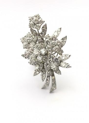 Antique Jewellery  - Van Cleef & Arpels - Bouquet Brooch