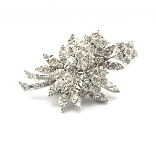 "Van Cleef & Arpels - Broche ""Bouquet"" - La Golconde"
